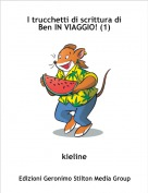 kieline - I trucchetti di scrittura di Ben IN VIAGGIO! (1)
