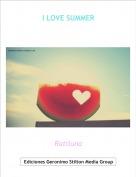 Ratiluna - I LOVE SUMMER