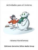 ratoescritorafamosa - Actividades para el invierno