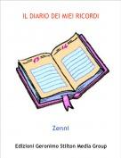 Zenni - IL DIARIO DEI MIEI RICORDI