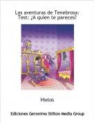 Hielos - Las aventuras de Tenebrosa:Test: ¿A quien te pareces?