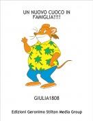 GIULIA1808 - UN NUOVO CUOCO IN FAMIGLIA!!!!