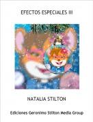 NATALIA STILTON - EFECTOS ESPECIALES III