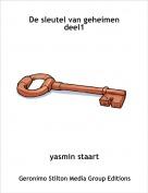 yasmin staart - De sleutel van geheimen deel1