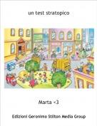 Marta <3 - un test stratopico