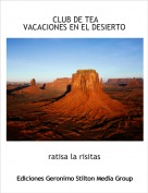 ratisa la risitas - CLUB DE TEAVACACIONES EN EL DESIERTO