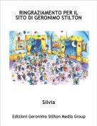 Silvia - RINGRAZIAMENTO PER IL SITO DI GERONIMO STILTON
