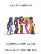 LA RATO ESCRITORA LUCIA!!! - UNA NUEVA AVENTURA!!