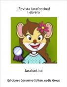 larafontina - ¡Revista larafontina!Febrero