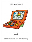 sara7 - il libro dei giochi