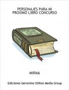 MIRI66 - PERSONAJES PARA MI PROXIMO LIBRO CONCURSO