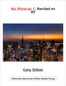 Cony Stilton - Mis Historias 1: Navidad en NY