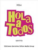 sonriria - HOLA