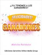Mielcita Ratidulce - ¡¡YA TENEMOS A LOS GANADORES!!