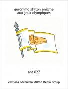 ant 027 - geronimo stilton enigme aux jeux olympiques