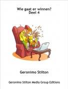 Geronimo Stilton - Wie gaat er winnen?Deel 4