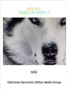 NIKI - WOLVES:DIARIO DE MARIA 2