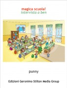 punny - magica scuola!intervista a ben