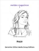 Mopje - meiden magazinne1