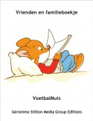VoetbalMuis - Vrienden en familieboekje