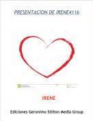 IRENE - PRESENTACION DE IRENE4116