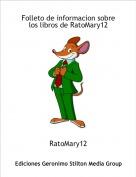 RatoMary12 - Folleto de informacion sobre los libros de RatoMary12