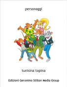 tunisina topina - personaggi