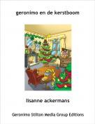 lisanne ackermans - geronimo en de kerstboom