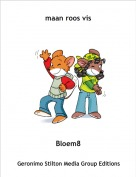 Bloem8 - maan roos vis