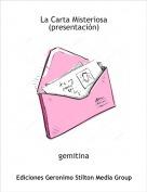 gemitina - La Carta Misteriosa (presentación)