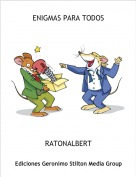 RATONALBERT - ENIGMAS PARA TODOS
