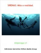 titiperaya n1 - SIRENAS: Mito o realidad.