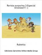 Rubietta - Revista purpurina 3:Especial veranooo!!! :)