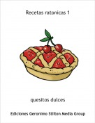 quesitos dulces - Recetas ratonicas 1