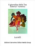 Lucre03 - Il giornalino delle Tea Sisters(1^numero)