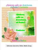 Ratolina Ratisa - ¿Quieres salir en Aventuras al Poder? Contesta