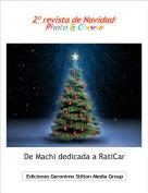 De Machi dedicada a RatiCar - 2º revista de Navidad: Photo & Cheese