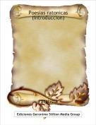 ratalista - Poesias ratonicas (Introduccion)