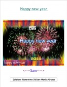 <----Sam----> - Happy new year