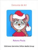 Ratona Paula - Concurso de Ari
