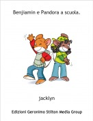 jacklyn - Benjiamin e Pandora a scuola.