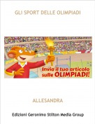 ALLESANDRA - GLI SPORT DELLE OLIMPIADI