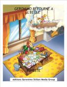 MINESTE - GERONIMO RETOURNE A L'ECOLE