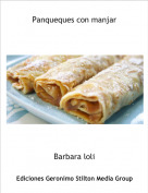 Barbara loli - Panqueques con manjar