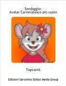 Topcamil - Sondaggio:Avatar Carnevalesco più usato