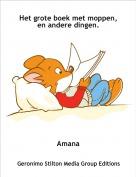 Amana - Het grote boek met moppen,en andere dingen.