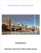 HadaRatita - Vacaciones en Nueva York