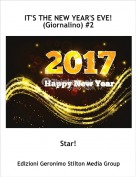 Star! - IT'S THE NEW YEAR'S EVE!