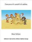 Klea Stilton - Concorso di castelli di sabbia