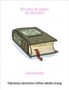 Lectufonso - Escuela de hadas-La decision-